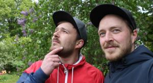 Johann und Niklas Ihre Holzbotter